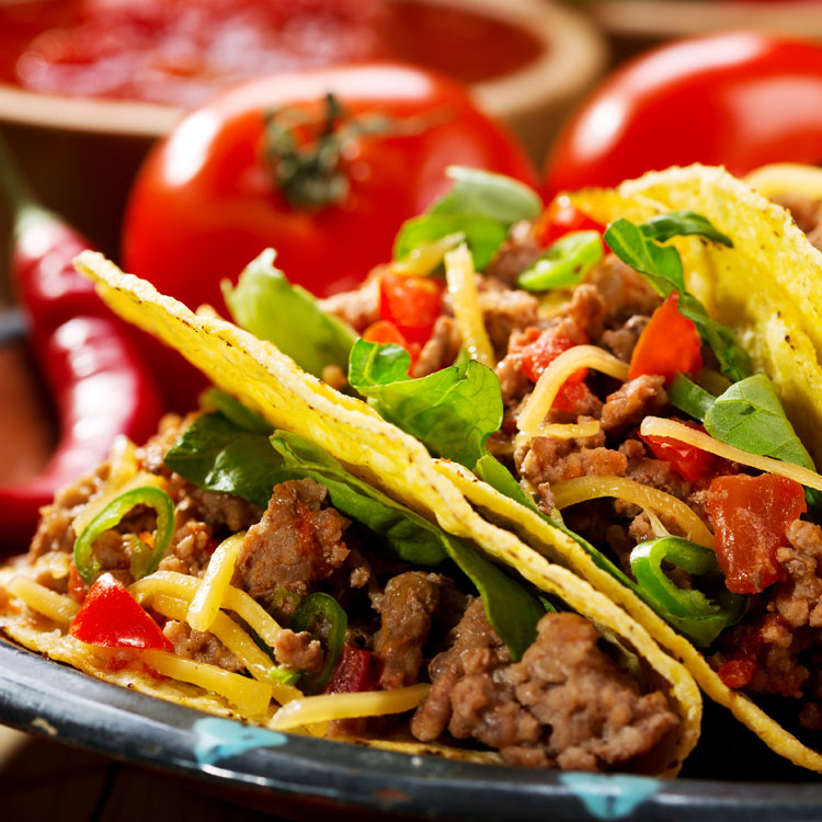 USDA Choice Beef Taco Meat